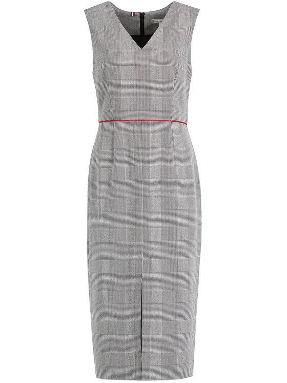 Tommy Hilfiger Tommy Hilfiger Φόρεμα κοκτέιλ WW0WW25900 Γκρι Slim Fit