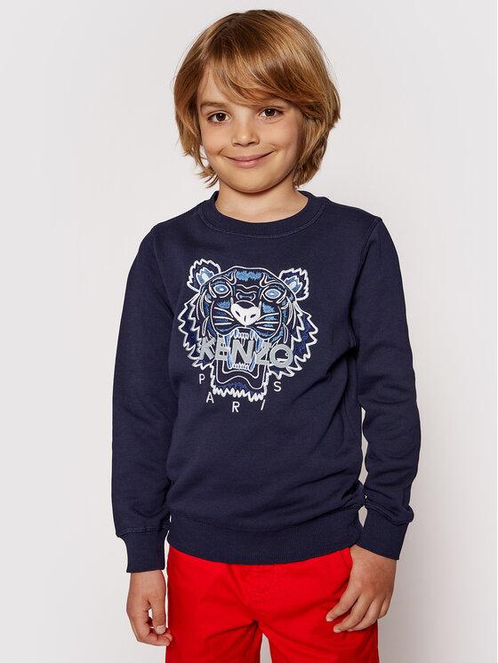 Kenzo Kids Džemperis K25080 S Tamsiai mėlyna Regular Fit