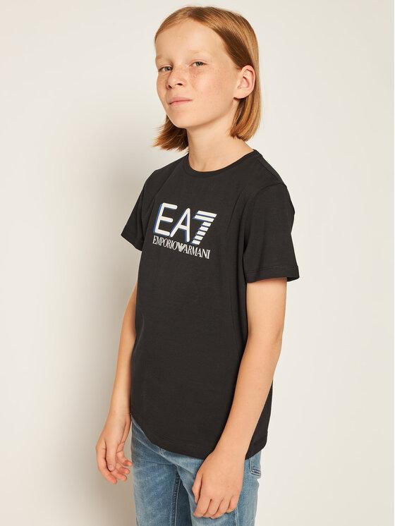 EA7 Emporio Armani EA7 Emporio Armani T-shirt 3HBT53 BJT3Z 1200 Nero Regular Fit