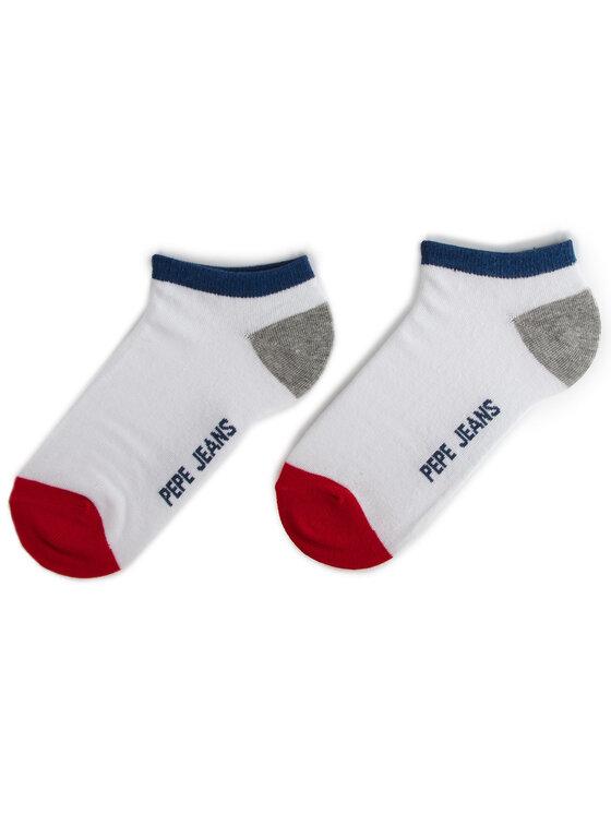 Pepe Jeans Pepe Jeans Комплект 3 чифта къси чорапи унисекс Elmo PMU10482 Тъмносин