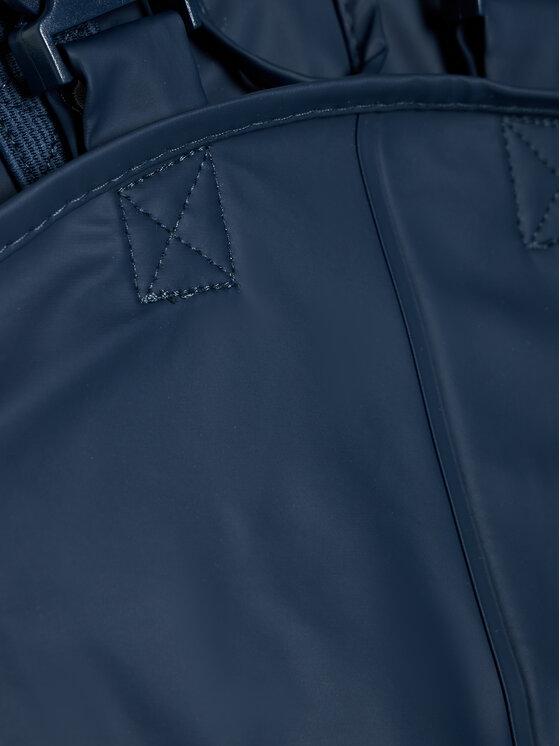 Playshoes Playshoes Spodnie przeciwdeszczowe 405424 M Granatowy Regular Fit