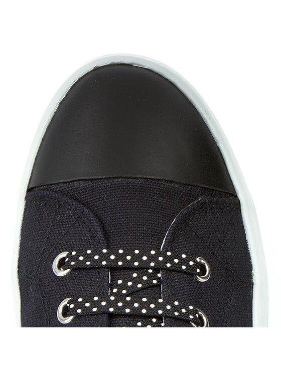 Geox Geox Sneakers aus Stoff J Ciak G. A J6204A 000AW C9999 Schwarz