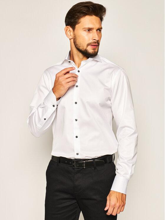 Stenströms Marškiniai 684111 1176 Balta Slim Fit