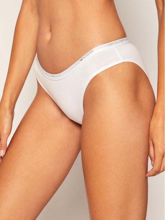 Emporio Armani Underwear Emporio Armani Underwear Sada 2 párů klasických kalhotek 163334 0A263 04710 Bílá