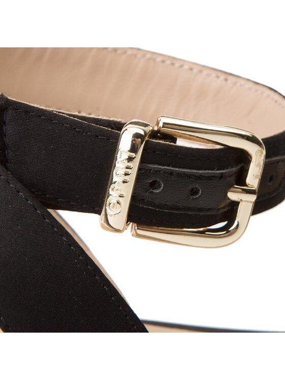 Liu Jo Liu Jo Espadrilles Sandalo Platform S18069 T0380 Fekete