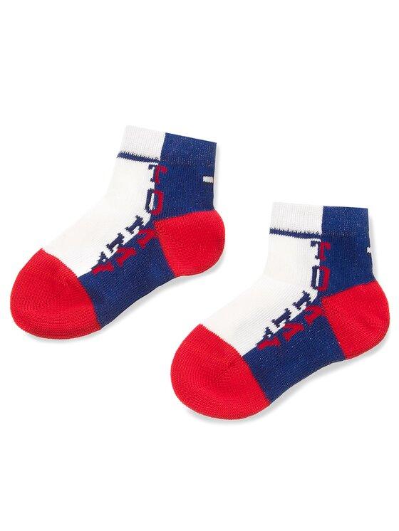 TOMMY HILFIGER TOMMY HILFIGER Súprava 3 párov vysokých detských ponožiek 485015001 Farebná