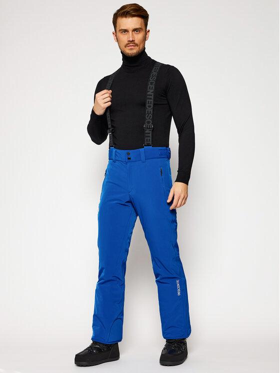 Descente Slidinėjimo kelnės Swiss DWMQGD40 Mėlyna Tailored Fit
