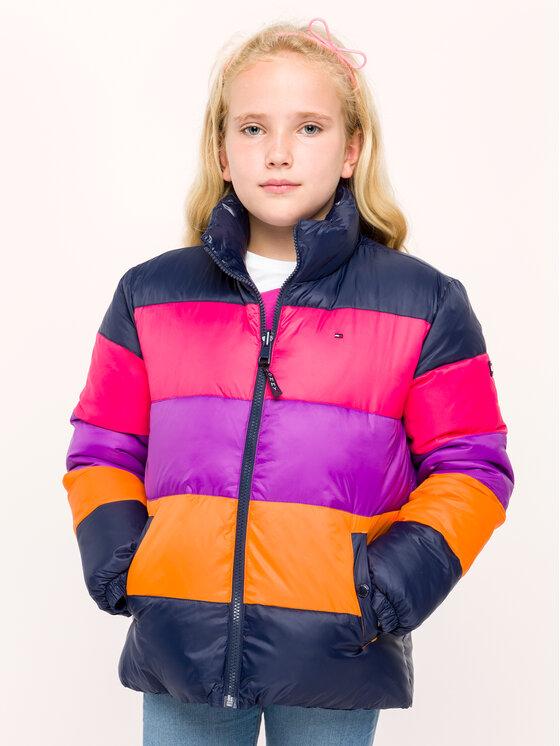 Tommy Hilfiger Tommy Hilfiger Zimní bunda KG0KG04479 D Tmavomodrá Regular Fit