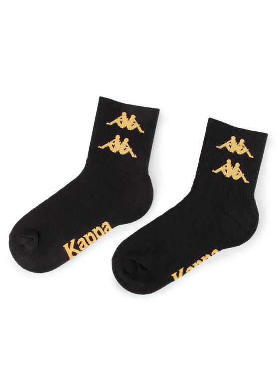 Kappa Kappa Zestaw 3 par wysokich skarpet unisex Evan 305068 Żółty