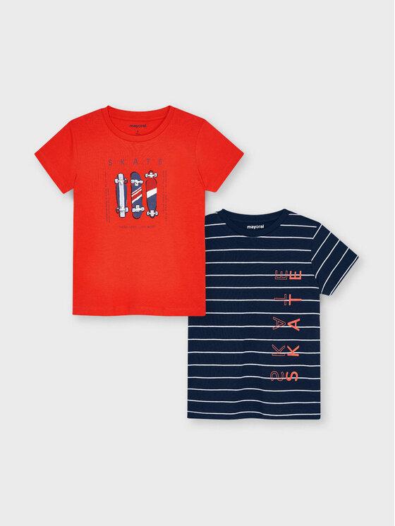 Mayoral 2 marškinėlių komplektas 3045 Spalvota Regular Fit
