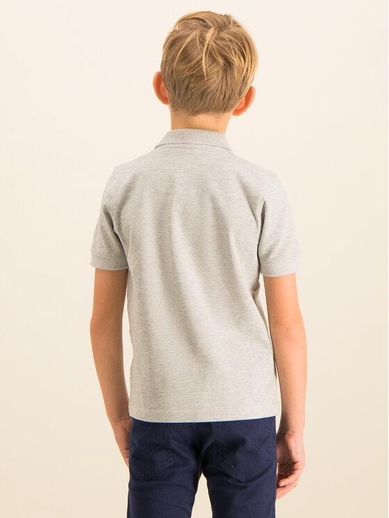 Timberland Timberland Тениска с яка и копчета T25P13 Сив Regular Fit