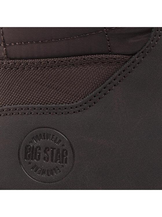 BIG STAR BIG STAR Trekingová obuv EE174454 Hnědá