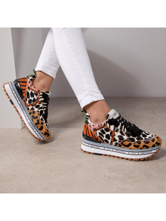 Liu Jo Liu Jo Sneakersy Maxi Alexa BXX051 PX072 Kolorowy