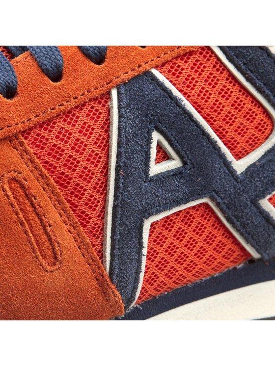 Armani Jeans Armani Jeans Сникърси A6506 13 U9 Оранжев