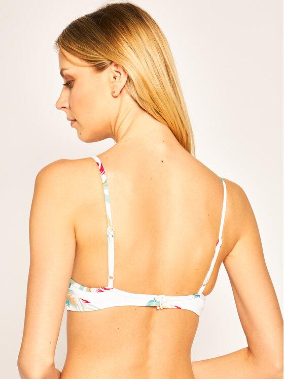 Roxy Roxy Bikinio viršus Lahaina Bay Wrap ERJX304090 Balta