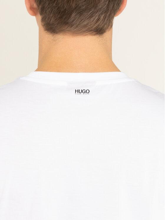 Hugo Hugo T-shirt Diete 50421728 Bianco Regular Fit