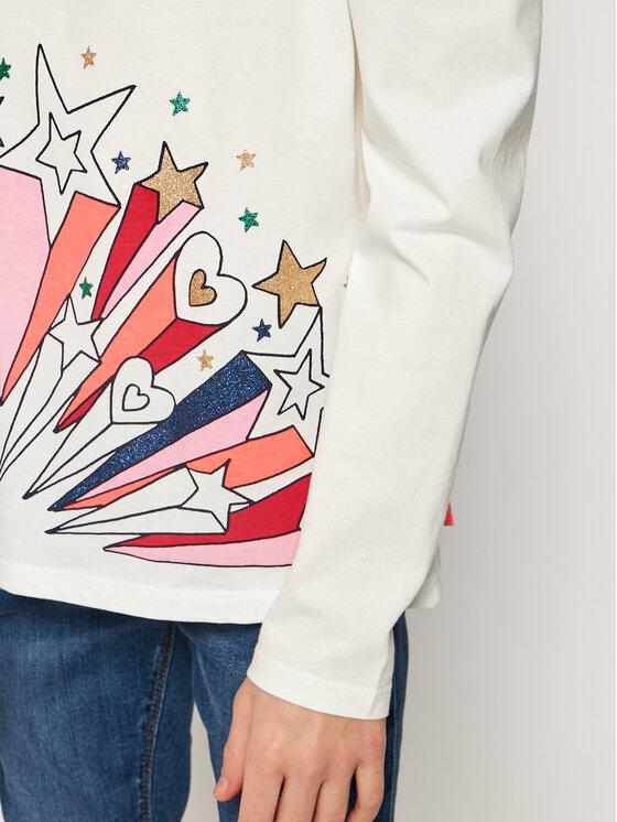 Billieblush Billieblush Bluzka U15810 Biały Regular Fit