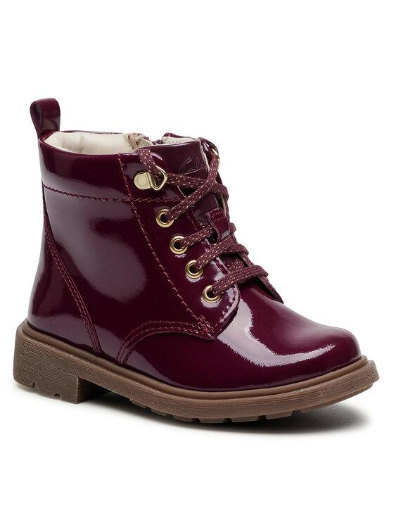 Clarks Auliniai batai Astrol Lace T 261535476 Violetinė