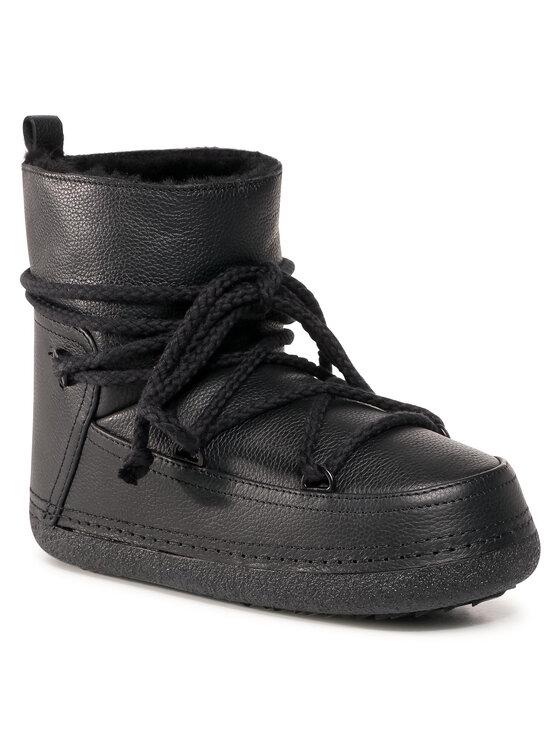 Inuikii Batai Full Leather 50101-089 Juoda