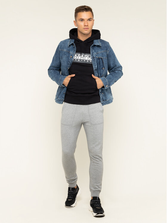 Pepe Jeans Pepe Jeans Sneakersy Sinyu Man 19 PMS30570 Czarny