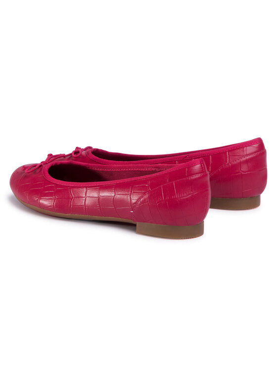 Clarks Clarks Baleriny Couture Bloom 261502824 Różowy