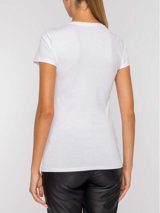 Liu Jo Liu Jo Marškinėliai W69260 J5003 Balta Regular Fit