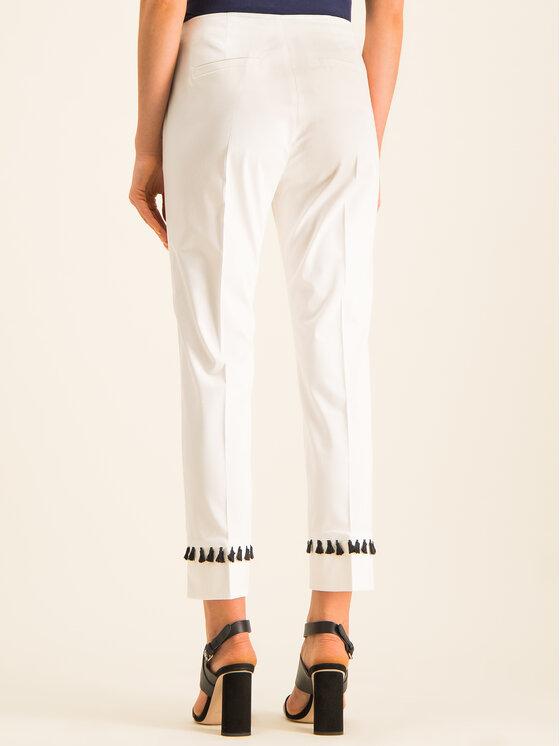 Pennyblack Pennyblack Chinosy 21310919 Biały Slim Fit