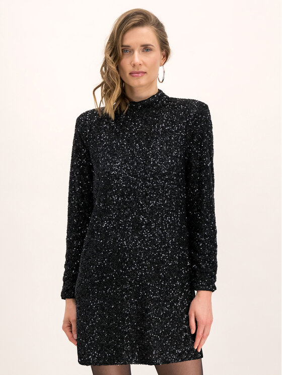 Pepe Jeans Pepe Jeans Robe de cocktail DUA LIPA Farah PL952617 Noir Regular Fit