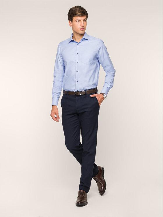 Pierre Cardin Pierre Cardin Košile 5797/000/26820 Modrá Modern Fit