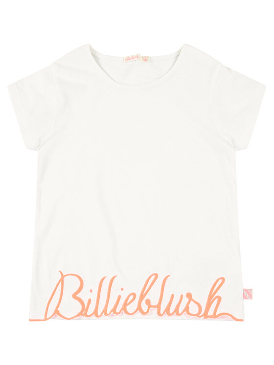 Billieblush Billieblush T-Shirt U15733 Biały Regular Fit