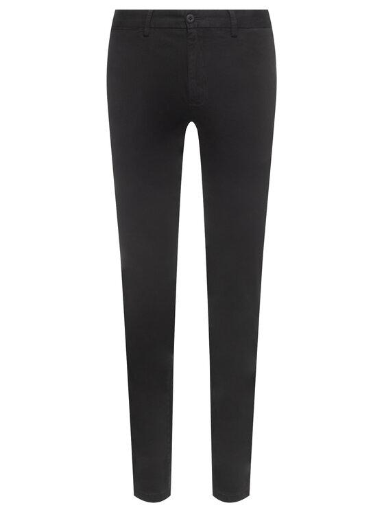 TOMMY HILFIGER TOMMY HILFIGER Текстилни панталони Denton MW0MW12576 Черен Straight Fit