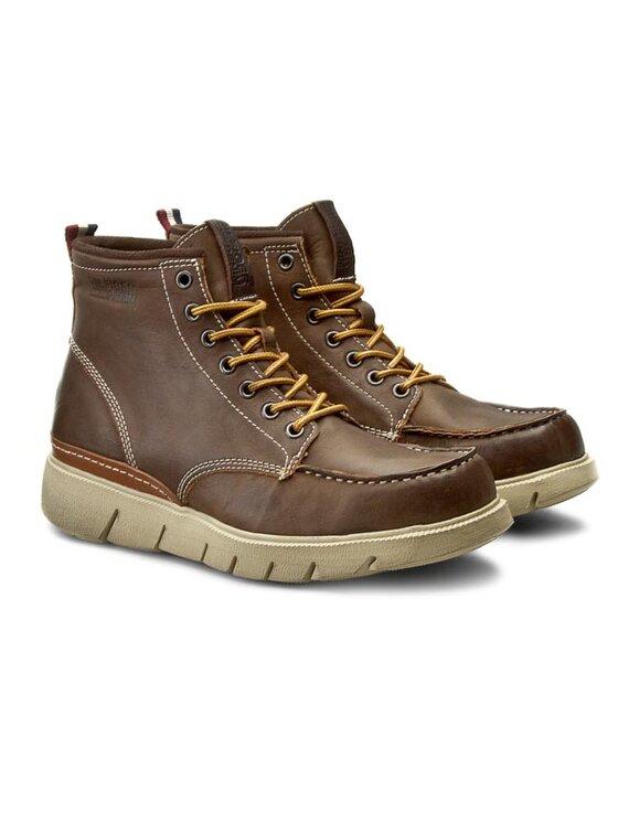 Tommy Hilfiger Tommy Hilfiger Μπότες DENIM John 1A1 EM56821799 Καφέ