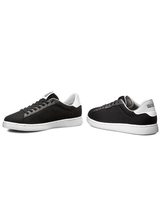Tommy Hilfiger Tommy Hilfiger Sneakersy DENIM Sullivan 1M-1 EM56820721 Čierna