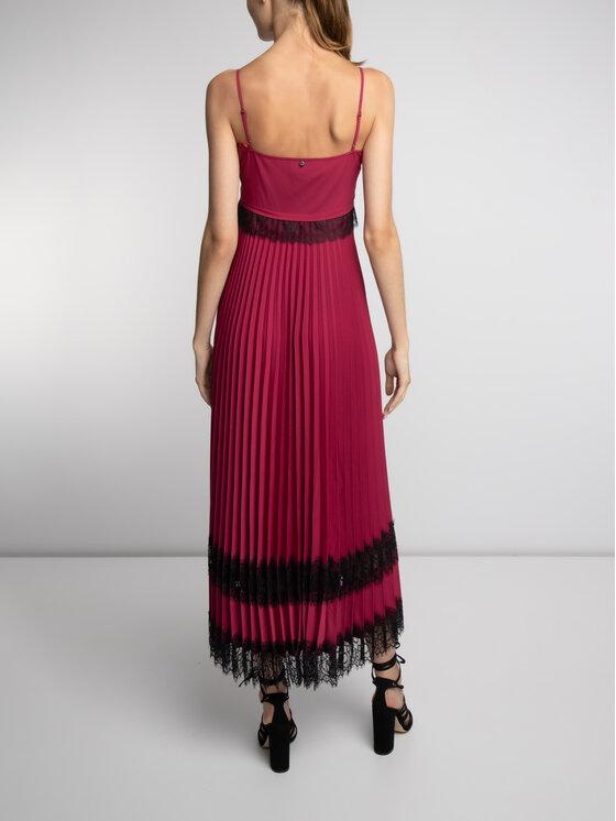 TwinSet TwinSet Φόρεμα βραδινό 192TP2282 Μωβ Regular Fit