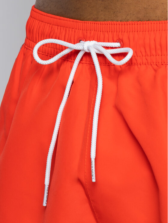 Calvin Klein Swimwear Calvin Klein Swimwear Σορτς κολύμβησης Medium Drawstring KM0KM00434 Κόκκινο Regular Fit