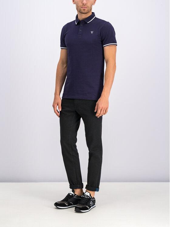 Trussardi Jeans Trussardi Jeans Pólóing 52T00298 Sötétkék Regular Fit