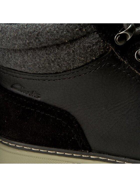 Clarks Clarks Boots Lorsen Top 261098337 Noir