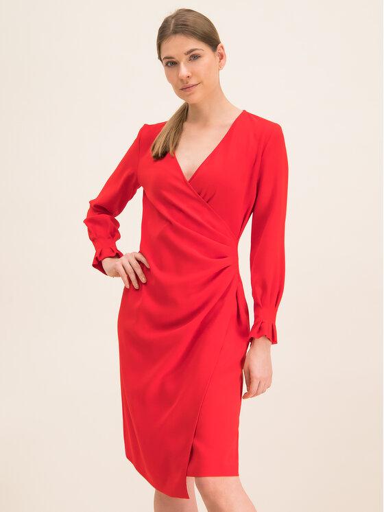 iBlues Kokteilinė suknelė 72262996 Raudona Regular Fit