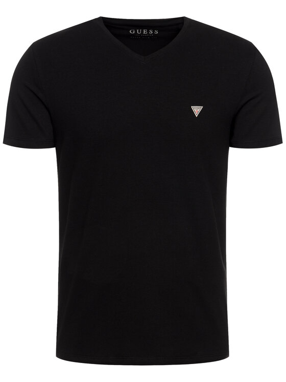 Guess Guess T-Shirt Core M94I32 J1300 Černá Super Slim Fit
