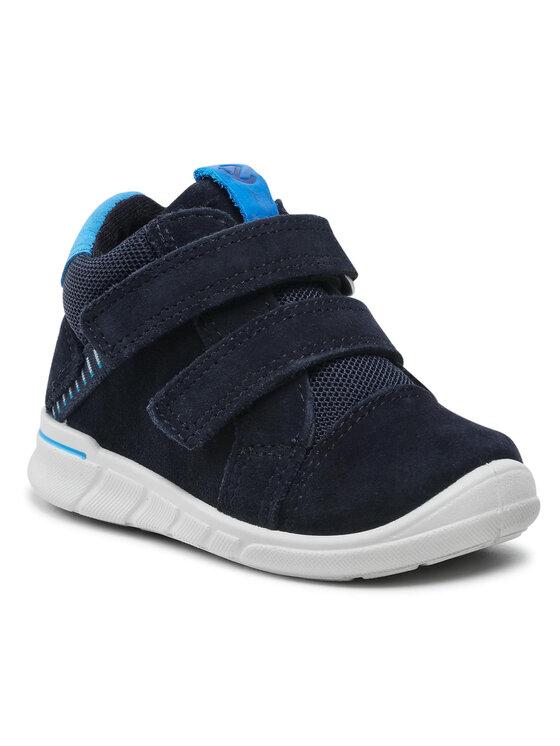 ECCO Auliniai batai First 75433105303 Tamsiai mėlyna