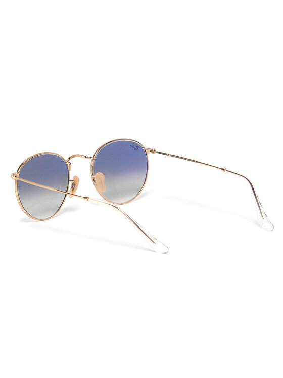 Ray-Ban Ray-Ban Sluneční brýle Round Flat Lenses 0RB3447N 001/3F Zlatá