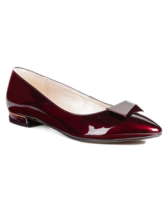 Clarks Clarks Pantofi Amulet Myth 261038924 Roșu