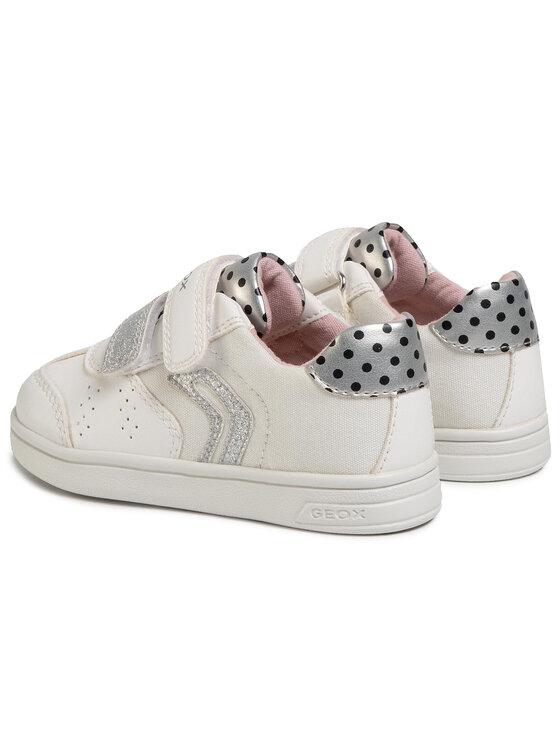 Geox Geox Sneakersy B Djrock G. A B021WA 05410 C0007 S Biały