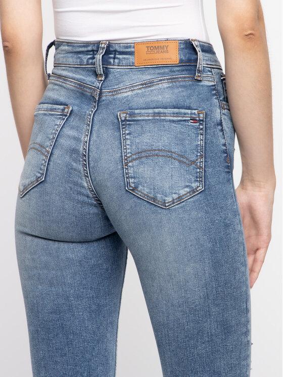 Tommy Jeans Tommy Jeans Slim Fit farmer DW0DW06885 Sötétkék Slim Fit