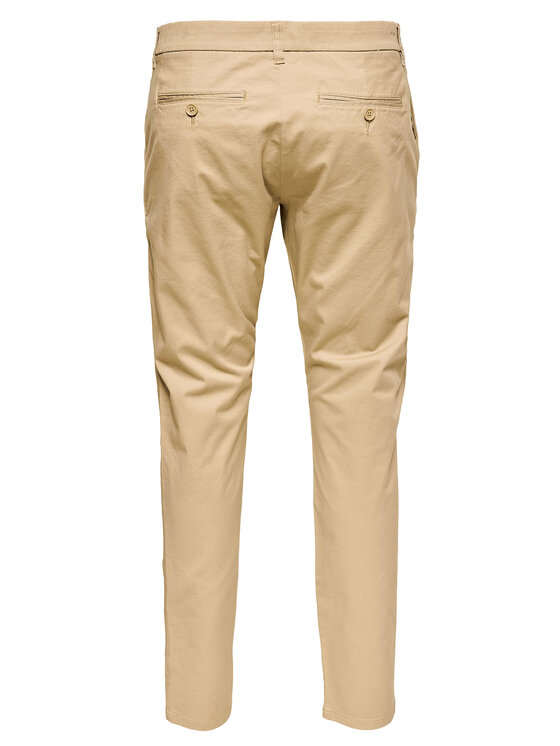 Only & Sons ONLY & SONS Spodnie materiałowe Cam 22016775 Beżowy Regular Fit