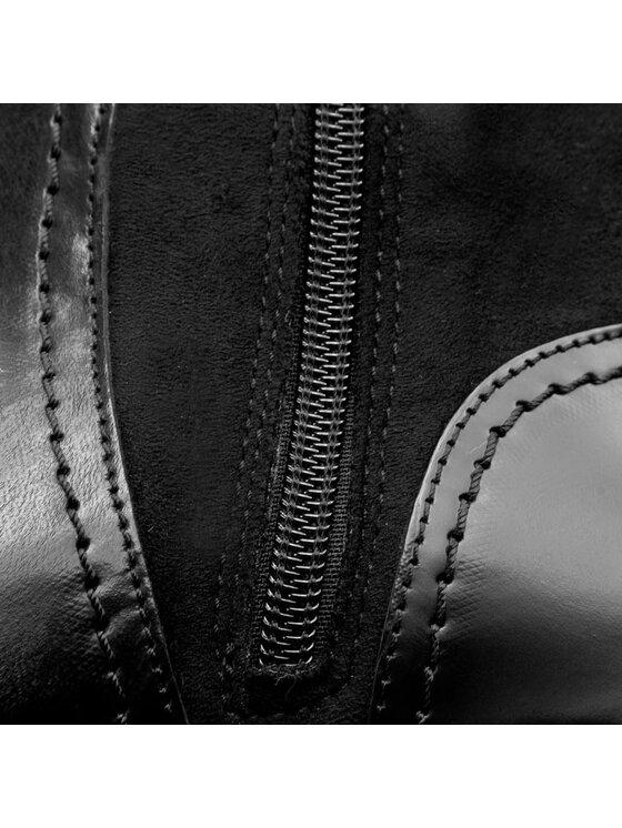 Tommy Hilfiger Tommy Hilfiger Kozačky ve vojenském stylu Berry 20C FW56821462 Černá