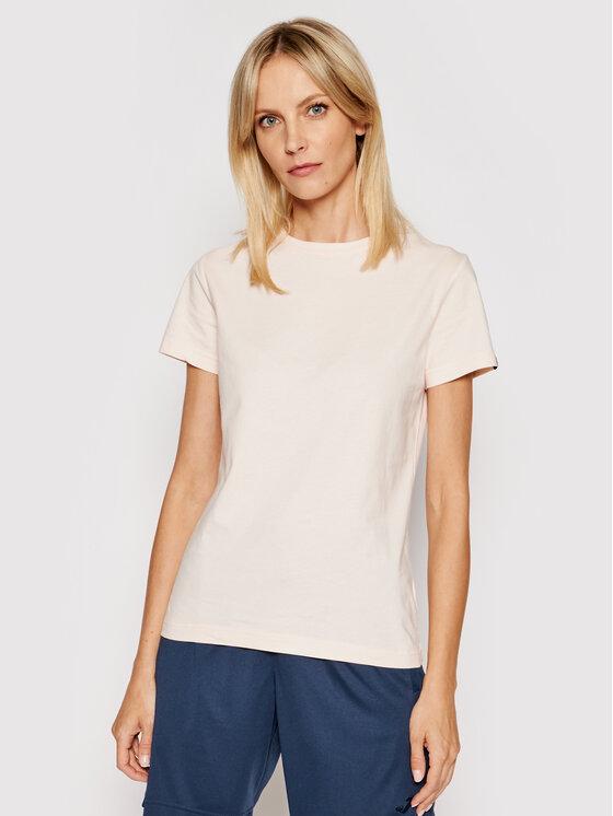 Joma Marškinėliai Desert 901326.540 Rožinė Regular Fit