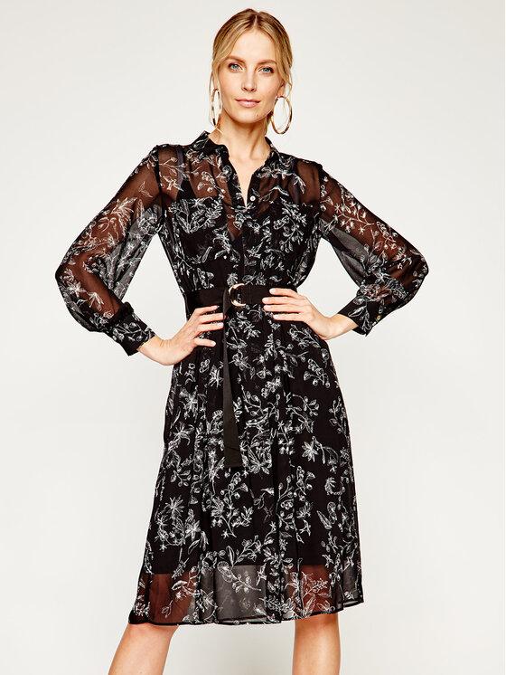 iBlues Kasdieninė suknelė Nevada 72212401 Juoda Loose Fit