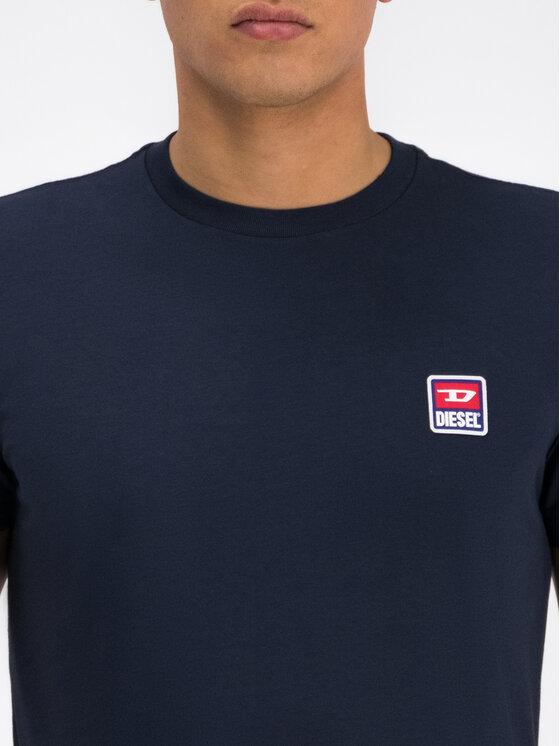 Diesel Diesel T-Shirt 00SZ7W 0PATI Granatowy Regular Fit