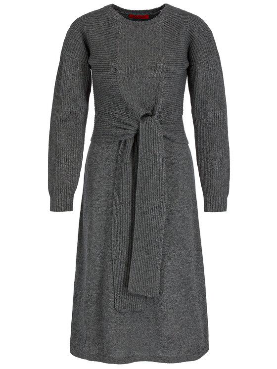 MAX&Co. MAX&Co. Kötött ruha 63249219 Szürke Regular Fit
